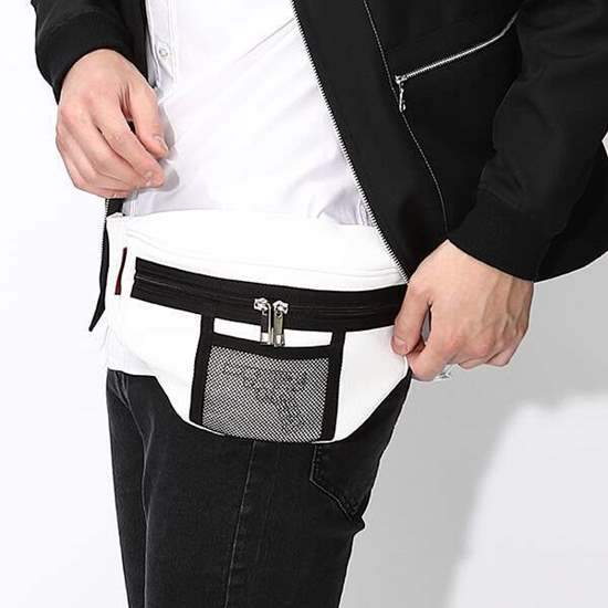 Picture of Persona 3 Super Groupies Protagonist Design Fanny Pack Bag