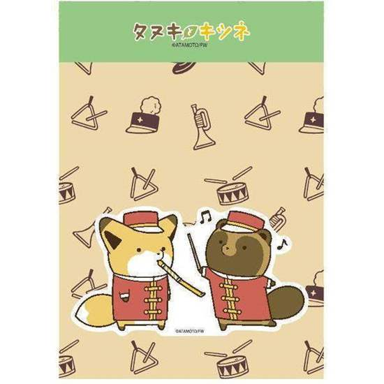Picture of Tanuki & Kitsune Marching Band Goods Stickers