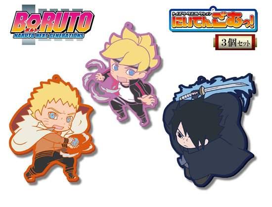 Picture of Boruto Naruto Next Generations Chara-Ani Toy's Works Collection Niitengomu Keychain SET