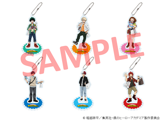 Picture of Boku No Hero Academia Hero Break at Marui Pop-Up Store Goods Acrylic Stand Keychains