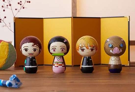 Picture of Kimetsu No Yaiba Aniplex+ Kokeshi Wooden Dolls