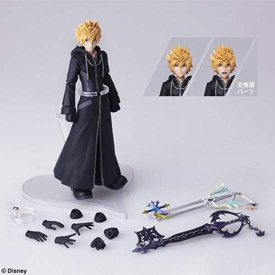 Picture of Kingdom Hearts 3 Bring Arts Roxas Figurine