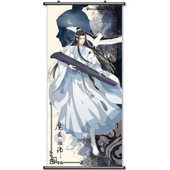 Picture of Mo Dao Zu Shi Monzon Exclusive Official Goods Tapestry Lan Wangji
