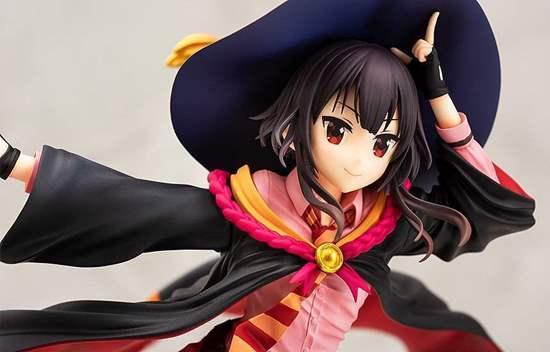 Picture of Kono Subarashii Sekai ni Shukufuku wo! Kurenai Densetsu Figurine Megumin School Uniform Ver.
