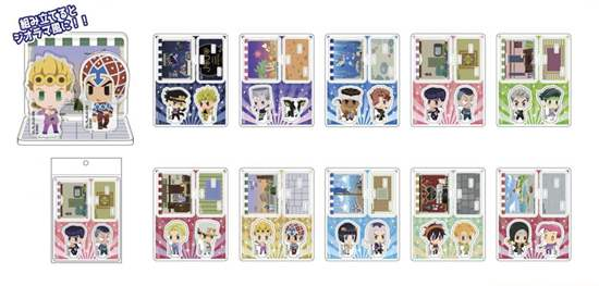 Picture of JoJo's Bizarre Adventure Acsta Collection JoJo's Pitter-Patter Pop! Acrylic Stand