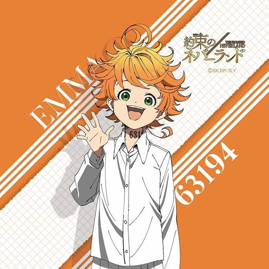 Picture of The Promised Neverland Hand Towel Emma