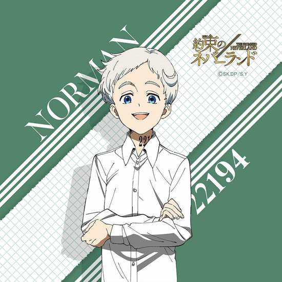 Picture of The Promised Neverland Hand Towel Norman