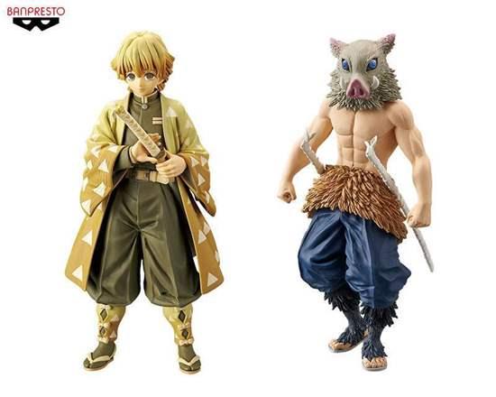 Picture of Kimetsu No Yaiba Banpresto Zenitsu and Inosuke Figurines