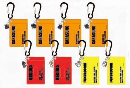 Picture of Haikyuu!! Jump Shop Joint Practice Goods Acrylic Charm Pass Case