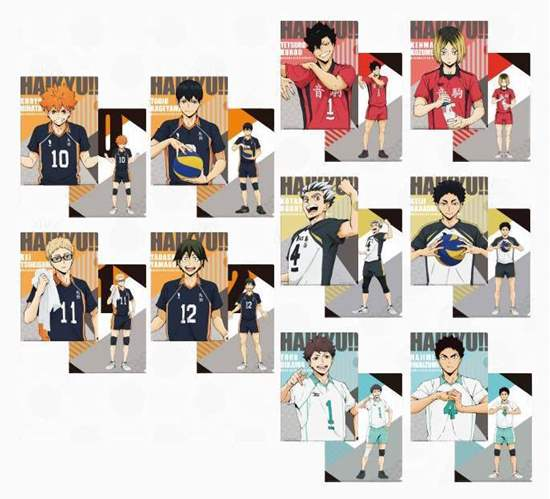 Picture of Haikyuu!! Jump Shop Joint Practice Goods Clear File