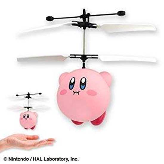 Picture of Kirby Hovering Remote Control Helicopter Figurine
