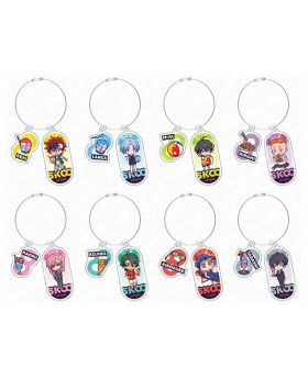 SK8 the Infinity Chara Shop Wire Acrylic Keychain Summer Ver.