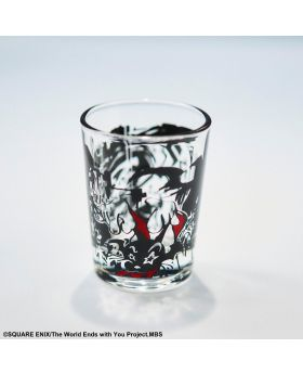 The World Ends With You the Animation Square Enix Goods Shot Glass Graffiti