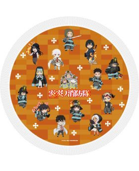 Fire Force Weilin Japan Round Towel