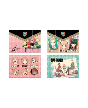SPY x FAMILY Ensky Clear File Pouch Style