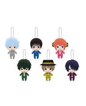 Gintama Banpresto Let's Decorate with a Suit Series Plush Straps