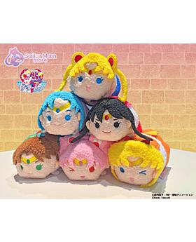 Sailor Moon Store Limited Edition Sailor Scouts Tsum Mascot Plush