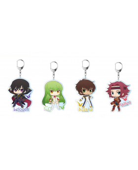 Code Geass Lelouch of the Resurrection Contents Seed Large Keychains