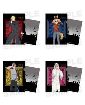 BANANA FISH Halloween Party in Animate Goods Character Clear File