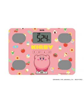 Kirby T-Fan Site Collaboration Goods Tanita Weight Scale