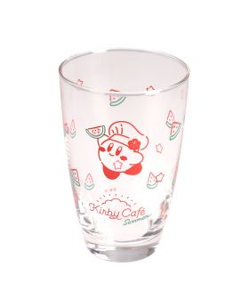 Kirby Cafe Pop-Up Store Summer Themed Glass Cup Watermelon Ver.