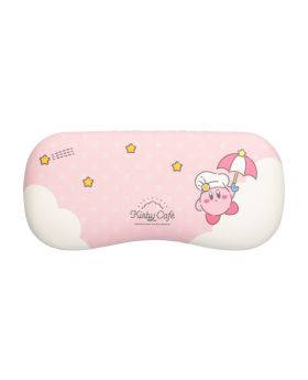 Kirby Cafe Pop-Up Store Glasses Case Pink Umbrella Pattern