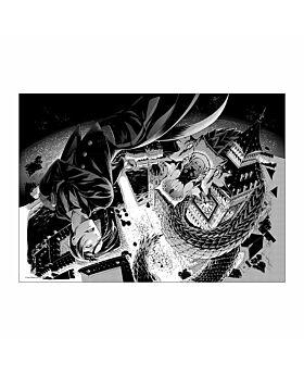 Kuroshitsuji Exhibition Goods Manga Page Print Rich Black Ver. #6