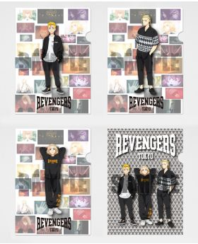 Tokyo Revengers x R4G Collaboration Clear File