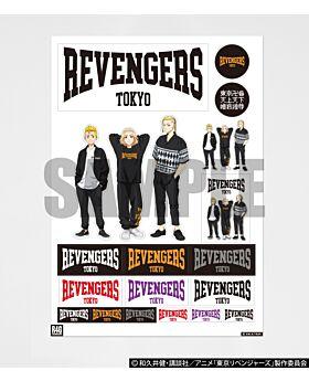 Tokyo Revengers x R4G Collaboration Sticker Sheet