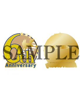 Fate/Grand Order Fes 2021 6th Anniversary Brooch Pin