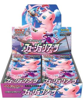 Pokemon Trading Card Game Sword and Shield Expansion Pack Fusion Arts Mew Set