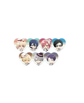 IDOLiSH7 Animate Cafe Goods Heart Can Badge Managers BLIND PACKS