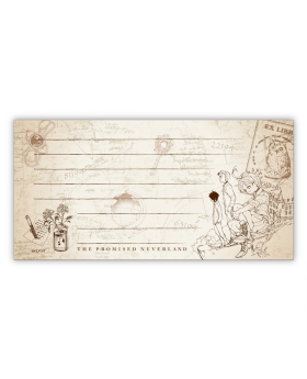 The Promised Neverland Exhibition Goods Lined Note Pad