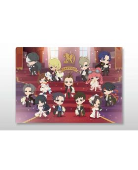 Ace Attorney 20th Anniversary CAPCOM Cafe Goods Clear File