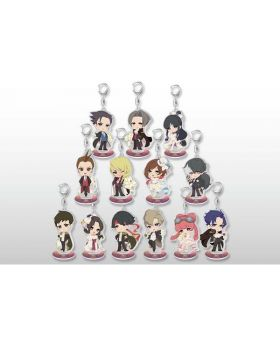 Ace Attorney 20th Anniversary CAPCOM Cafe Goods Acrylic Keychain BLIND PACKS