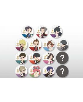 Ace Attorney 20th Anniversary CAPCOM Cafe Goods Can Badge BLIND PACKS