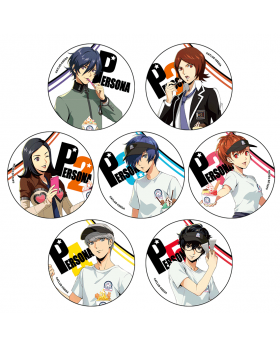 Persona 25th Anniversary Roll Ice Cream Factory Collaboration Goods Can Badge BLIND PACKS