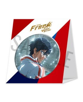Free! the Final Stroke Movie Goods The First Volume BIG Can Badge
