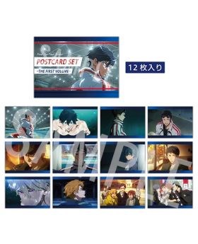 Free! the Final Stroke Movie Goods The First Volume Postcard Set