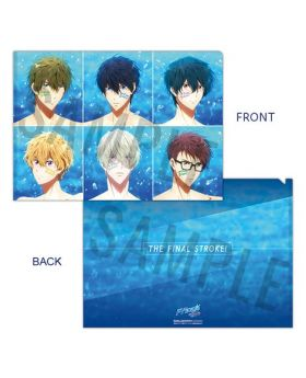 Free! the Final Stroke Movie Goods Passion Clear File Type A
