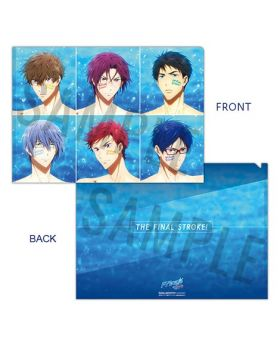 Free! the Final Stroke Movie Goods Passion Clear File Type B