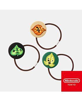 The Legend of Zelda Breath of the Wild Nintendo Koroks Collection Hair Tie Set