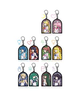 Sailor Moon Store Original Stained Glass Keychain