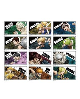 Dr. STONE Dash Store Limited Acrylic Badge BLIND PACKS