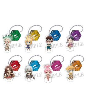 Dr. STONE Dash Store Limited Acrylic Keychain Stand Chibi Ver. SET