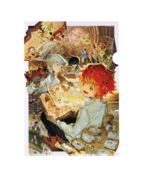 The Promised Neverland Exhibition Goods Clear File Key Visual