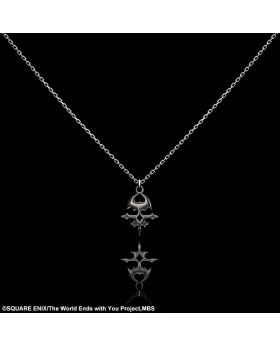 The World Ends With You Square Enix Goods Silver Necklace Skull