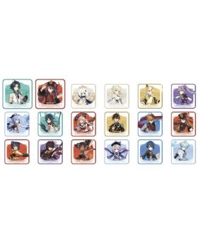 Genshin Impact Sweets Paradise Liyue Collab Goods Normal Characters Coasters BLIND PACKS