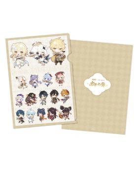 Genshin Impact Sweets Paradise Liyue Collab Goods Chibi Characters Clear File