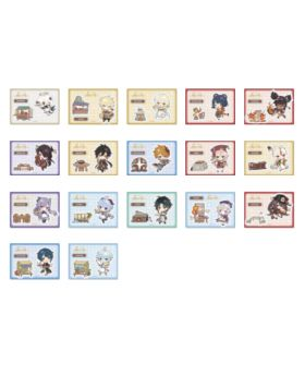 Genshin Impact Sweets Paradise Liyue Collab Goods Chibi Characters Sticker Pack of 3 BLIND PACKS